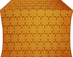 Smolensk silk (rayon brocade) (yellow/gold)