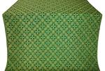 Ostrozh metallic brocade (green/gold)