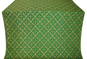 Ostrozh metallic brocade (green/gold)