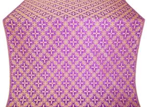Ostrozh metallic brocade (violet/gold)
