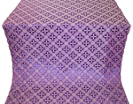 Ostrozh metallic brocade (violet/silver)