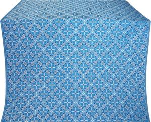 Ostrozh silk (rayon brocade) (blue/silver)