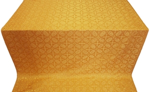 Ostrozh silk (rayon brocade) (yellow/gold)