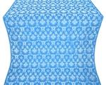 Loza metallic brocade (blue/silver)