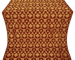Loza metallic brocade (claret/gold)