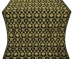 Loza metallic brocade (black/gold)