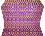 Loza metallic brocade (violet/gold)