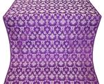 Loza metallic brocade (violet/silver)