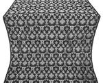 Loza metallic brocade (black/silver)