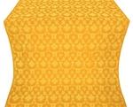 Loza silk (rayon brocade) (yellow/gold)