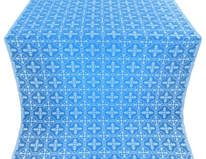 Lyubava metallic brocade (blue/silver)