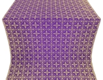 Lyubava metallic brocade (violet/gold)