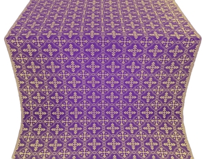 Lyubava metallic brocade (violet/gold)