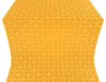 Lyubava silk (rayon brocade) (yellow/gold)