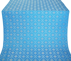 Lavra metallic brocade (blue/silver)