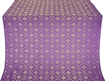 Lavra metallic brocade (violet/gold)