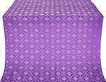 Lavra silk (rayon brocade) (violet/silver)