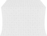Lavra silk (rayon brocade) (white/silver)