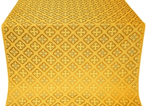 Canon metallic brocade (yellow/gold)