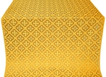 Canon silk (rayon brocade) (yellow/gold)