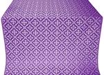 Canon silk (rayon brocade) (violet/silver)