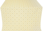 Canon silk (rayon brocade) (white/gold)