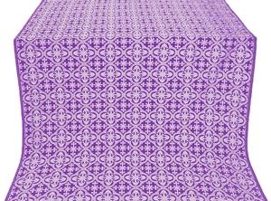 Elizabeth metallic brocade (violet/silver)