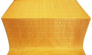 Elizabeth silk (rayon brocade) (yellow/gold)