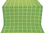 Elizabeth silk (rayon brocade) (green/gold)