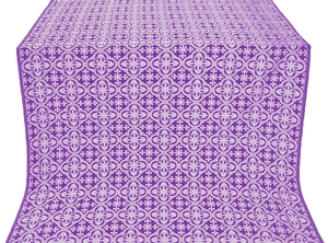Elizabeth silk (rayon brocade) (violet/silver)