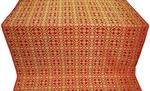 Elizabeth silk (rayon brocade) (red/gold)