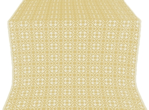 Elizabeth silk (rayon brocade) (white/gold)
