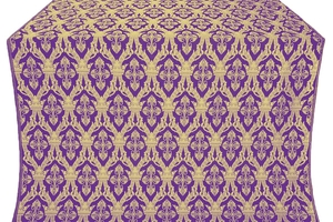 Korona metallic brocade (violet/gold)