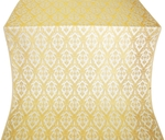 Korona metallic brocade (white/gold)