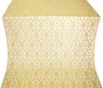 Korona metallic brocade (white/gold)