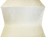 Korona metallic brocade (white/silver)