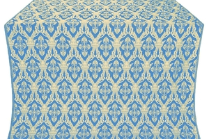 Korona silk (rayon brocade) (blue/gold)