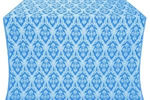 Korona silk (rayon brocade) (blue/silver)