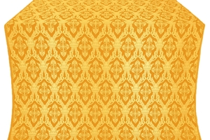 Korona silk (rayon brocade) (yellow/gold)