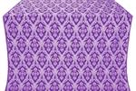 Korona silk (rayon brocade) (violet/silver)