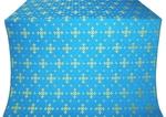 Belozersk metallic brocade (blue/gold)