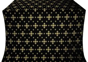 Belozersk metallic brocade (black/gold)