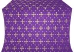 Belozersk metallic brocade (violet/gold)