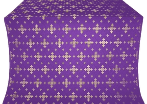Belozersk metallic brocade (violet/gold)