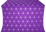 Belozersk metallic brocade (violet/silver)
