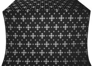 Belozersk metallic brocade (black/silver)
