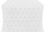 Belozersk metallic brocade (white/silver)