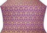 Czar's Cross metallic brocade (violet/gold)
