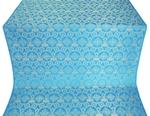 Czar's Cross silk (rayon brocade) (blue/gold)