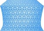 Czar's Cross silk (rayon brocade) (blue/silver)